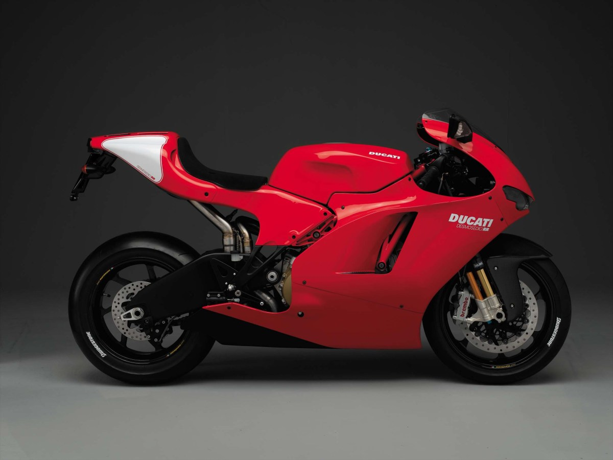 Ducati Desmosedici RR, The Original Ducati V4 Superbike